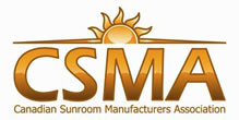 Member of the Canadian Sunroom Manufacturers Association