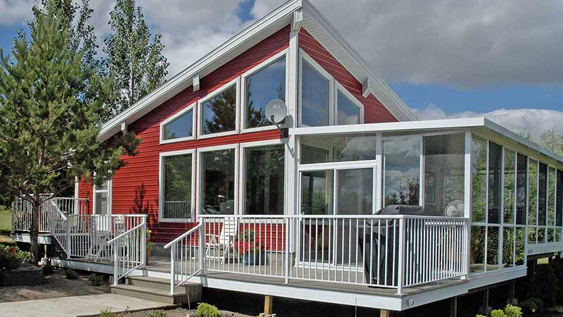 Sunrooms in Saskatchewan, two to four season rooms