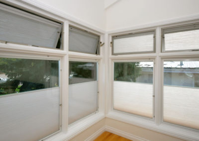 Windows that open and have built in blinds