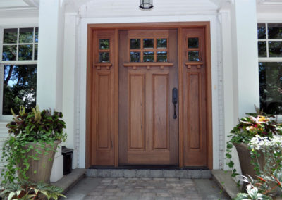 Wood door installed in saskatoon saskatchewan